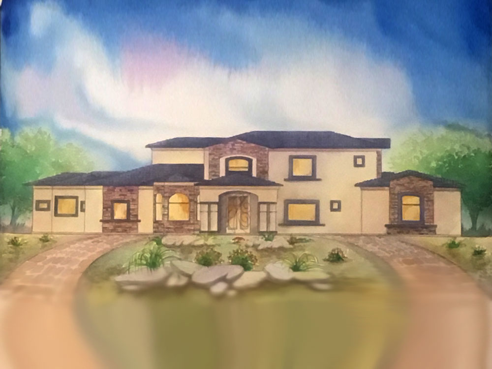 Custom home builder las vegas dream construction for Custom dream houses