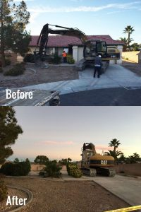 Demolition Before & After