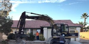 Demolition Before