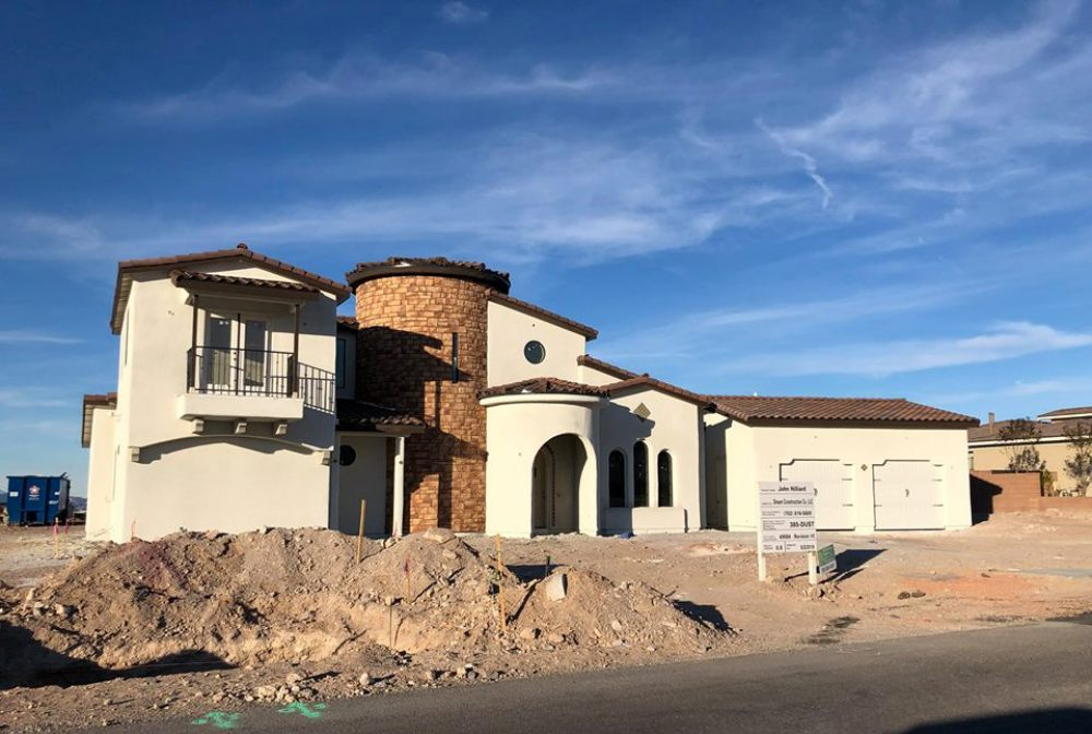 Custom Home Build in Las Vegas