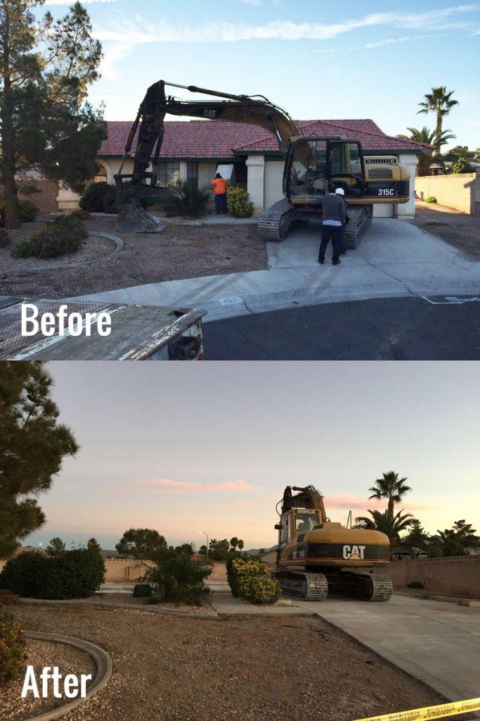 Demolition Before & After