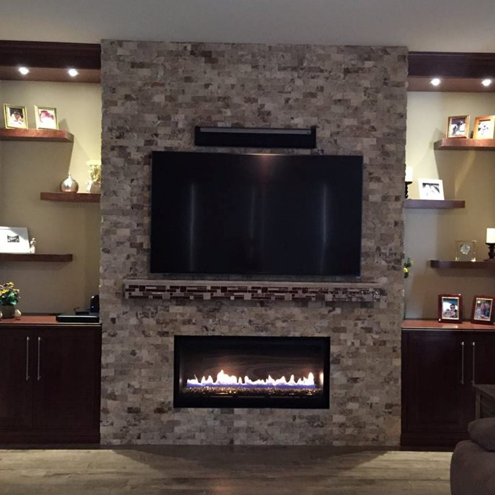Fireplace Remodeled by Dream Construction