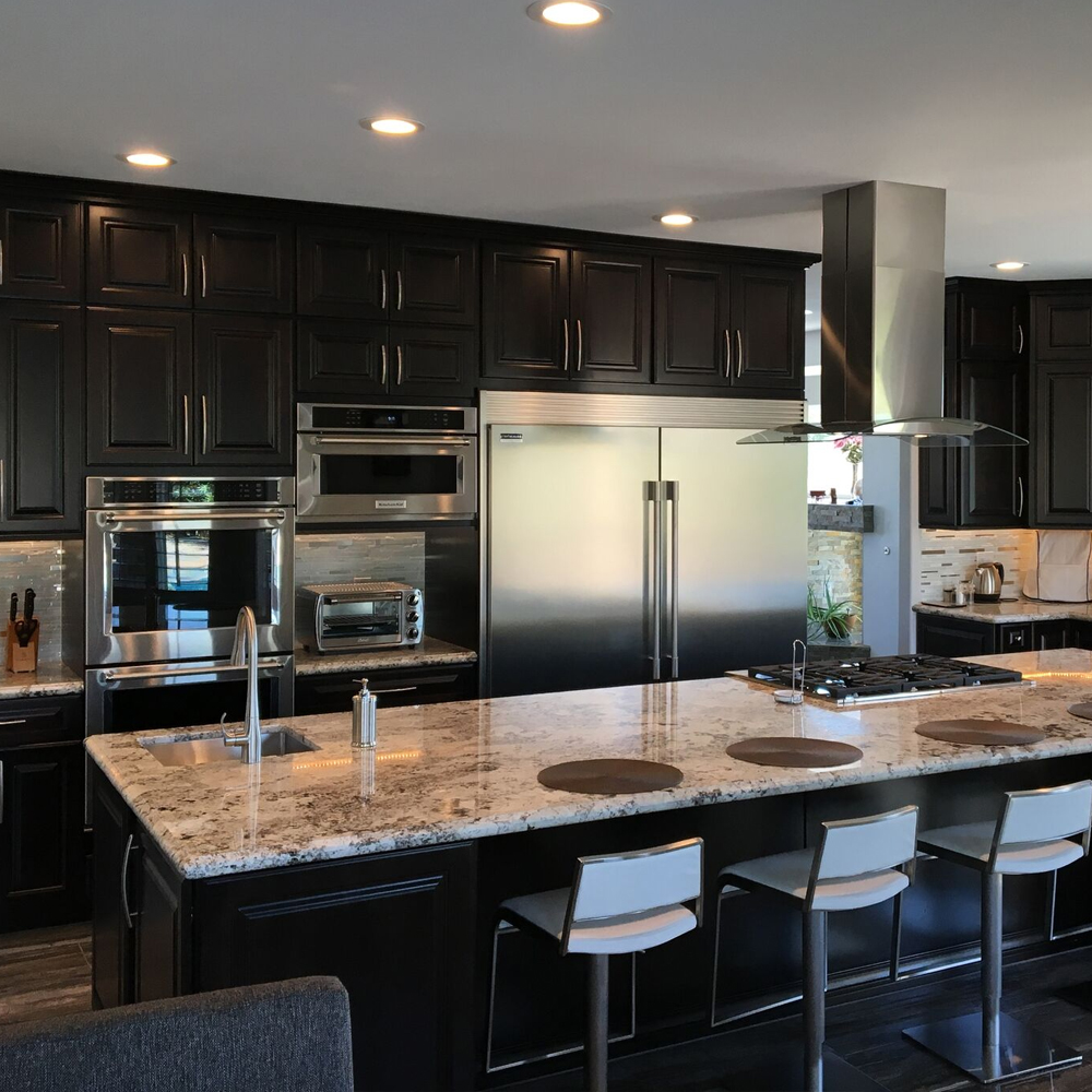 Full Kitchen Redesign by Dream Construction