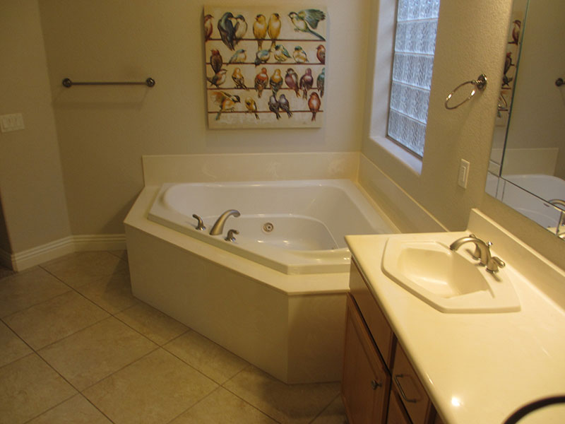 Master Bath Tub - Before