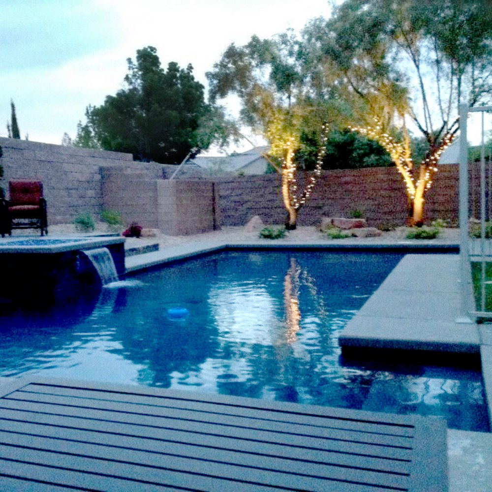 Outdoor Pool Remodel in Las Vegas