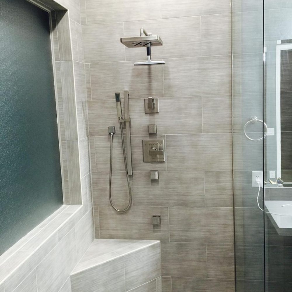 Shower Remodel by Dream Construction in Las Vegas